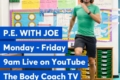 Exercise and fresh air: Join in with Joe Wicks!